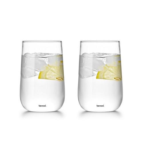 لیوان شیشه ای- ست 2 تایی